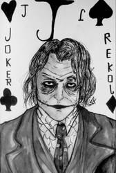 The joker fanart by ViktorStefan