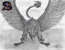 The Mighty Griffin by sammacha