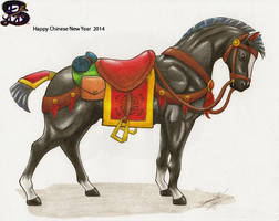 Chinese War Horse - Daiyu - #2 by sammacha