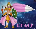 P Peach X Monster Hunter by sammacha