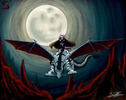 Dragon and tamer by sammacha