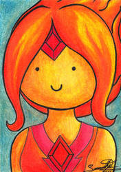 Fire-princess by sammacha