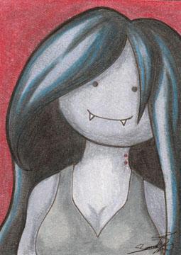Marceline - Original Art Card by sammacha