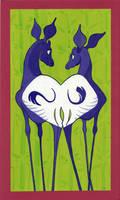 Anniversary Okapis by Polarkeet