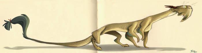 Whisker Dragon by Polarkeet