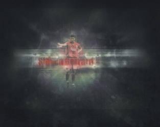 Gerrard - Liverpool F.C. by soccerarts