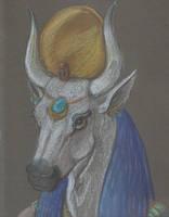 Hathor. Lady of Turquoise by echdhu