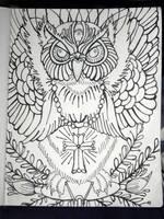 Traditional Owl by Brinkworth
