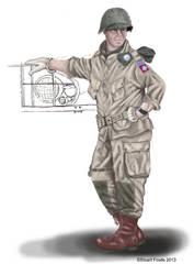 82nd circa 1944 by cpart
