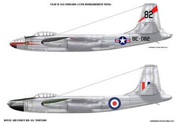 North American B-45 Tornado by cpart