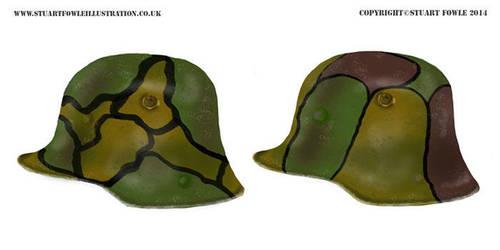 WW1 German Helmets by cpart