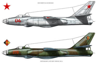 Il-28s by cpart