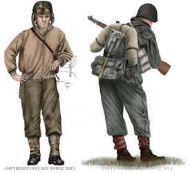 US Army WW2 by cpart
