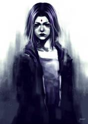 Raven - Fanart by JessicaPegoraro