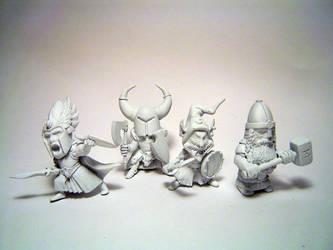 chibi warhammer by Atgill