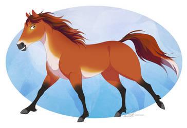 Fox Horse by DVixie