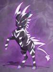 [commission] Shadow Zebstrika by DVixie