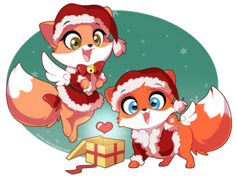 Skyfox Christmas! by DVixie