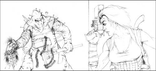 Afterlife line art by Darkmir