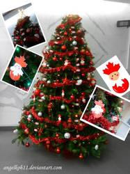 Canada Christmas Tree Decorati by angelkoh11