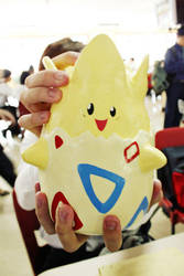 Togepi Clay Model by angelkoh11