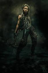 Rassamee the Warrior by WesterArt