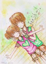 Couple Again by AmamizuPuchiko