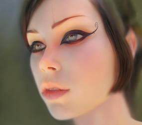 World in my eyes... by fantasio