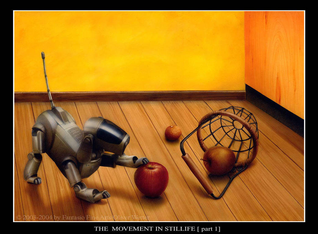 the movement in stillife part1 by fantasio