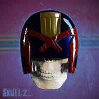 Skullified:: Judge Dredd by fantasio