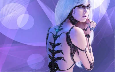 Android Legacy V: A Mechanical Romance - Wallpaper by fantasio