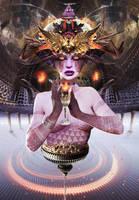 XIV Temperance by fantasio