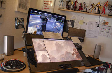 The digital painters desk (updated + article) by fantasio