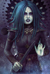Tempus Findal - Character illustration by fantasio