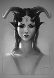 Demon Princess Concept by fantasio