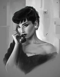 Audrey by fantasio