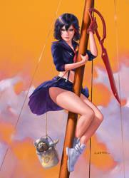 Ryuko Sitting Pretty by fantasio