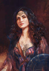 Diana Prince - after J.J.Shannon by fantasio