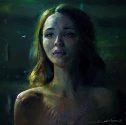 Laura Moon Portrait Study by fantasio