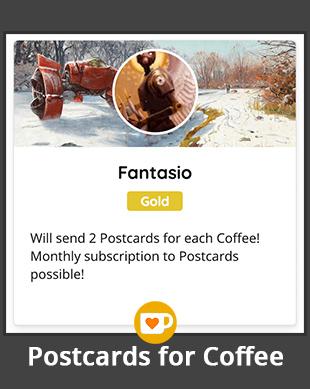 Ars Fantasio Postcards for Coffee