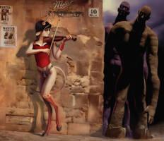 Mileena the headhuntress by fantasio