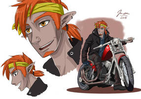 Punk Ganon by Animebabe161