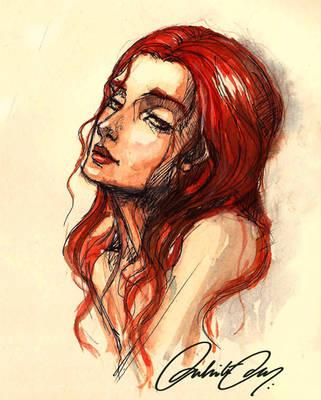 Melisandre of Asshai by duhi