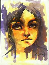 portrait by duhi