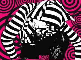 dizzy pop art by PinkySkull