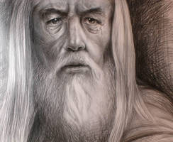 Lord of the Rings: Gandalf by Chibi-Cloud