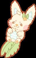 Fluffy Starfruit Fox by Kiwicide