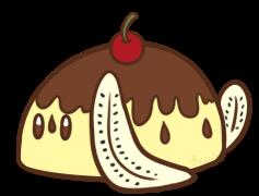 Banana Split Bunbon by Kiwicide