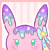 Bonami Peek-a-boo Icon by Kiwicide
