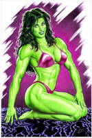 she-hulk color by petervale